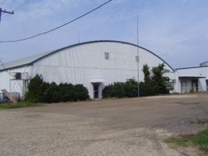 110,000 Square Foot Building on 10 Acres in Mississippi
